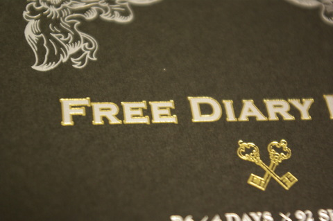 FREE DIARY NOTE